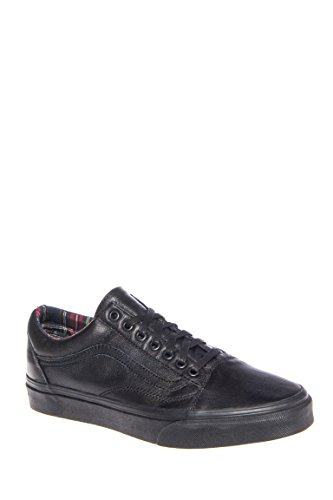 Men's Leather Old Skool Low Top Sneaker