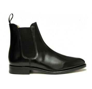 Mens Loake Chelsea Boots 290 (8.5, Black)