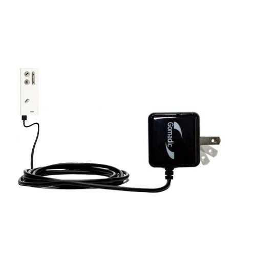 Gomadic High Output Home Wall AC Charger designed for the Oticon Streamer Pro with Power Sleep technology - Intelligently designed with Gomadic TipExchange (Oticon Streamer Charger compare prices)