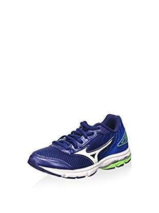 Mizuno Zapatillas Wave Inspire 12 Jr (Azul / Blanco)