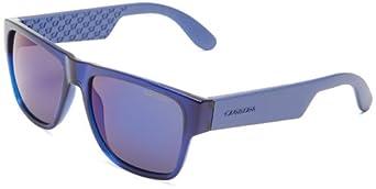 Carrera Ca5002s Rectangle Sunglasses,Blue,55 mm