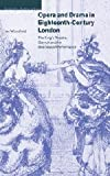 img - for Opera and Drama in Eighteenth-Century London: The King's Theatre, Garrick and the Business of Performance (Cambridge Studies in Opera) by Ian Woodfield (2001-05-10) book / textbook / text book