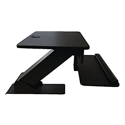 Contour ergonomia Sit stand workstation–nero