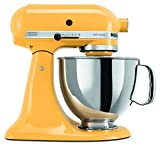 Kitchenaid Stand Mixer Tilt 5-quart Ksm150psbf Artisan Yellow Buttercup New Fast Shipping By Fedex