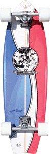 """Gravity Larry Bertlemann Pepsi Complete Longboard Skateboard - 9.25"""" x 33"""""""
