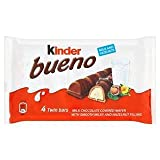 Kinder Bueno Milk & Hazelnut 4 x 43G