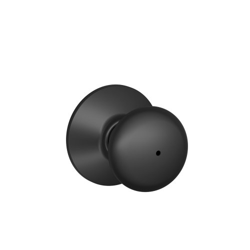 Schlage F40PLY622 Plymouth Privacy Knob, Matte Black (Black Privacy Door Knob compare prices)