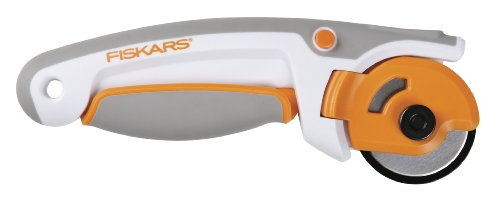 Fiskars 45mm Easy Change Ergo Control Rotary Cutter (197990-1001) (Fiskars Titanium Rotary Cutter compare prices)