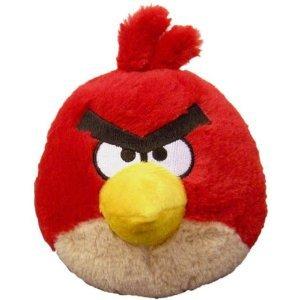 アングリーバード Angry Birds 5インチ レッドバード サウンドなし ぬいぐるみ