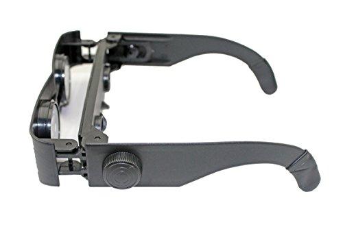 Utrax Zoomies Hands Free Binoculars Plastic Adjustable Magnifying Glasses Binoculars
