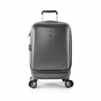 Heys – Crown Smart Portal Grau Trolley mit 4 Rollen Klein günstig bestellen