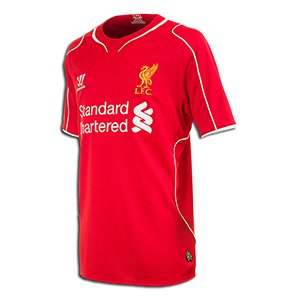 Liverpool Kids (Boys Youth) Home Jersey 2014 †2015 by Warrior