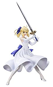 Fate/stay night [Unlimited Blade Works] セイバー 白ドレスVer. 1/8スケール PVC製 塗装済み 完成品 フィギュア