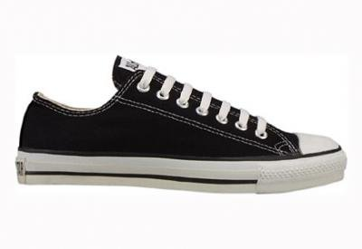 Converse Womens All Star Elevated Studs Black Sneaker - 5.5
