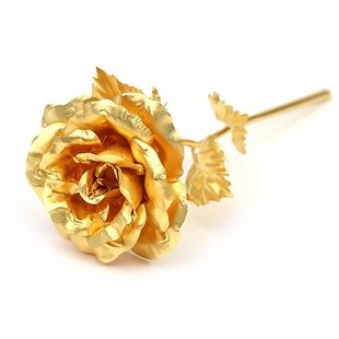 24k Gold Plated Rose Valentine's Day Gift Expressed