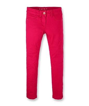 Esprit - Pantalon - Fille - Rouge - FR: 14 ans (Taille fabricant: 164)