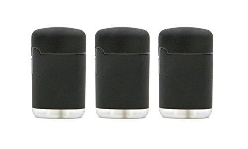original-easy-torch8-r-jet-outdoor-gas-de-mechero-negro-con-superficie-de-goma-3-unidades