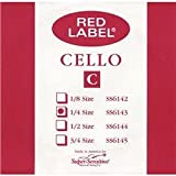 Super Sensitive Red Label 6147 Cello C String, 4/4