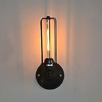 Retro Ferro 1 Light Light Muro In Elaborazione Pittura Illuminazione
