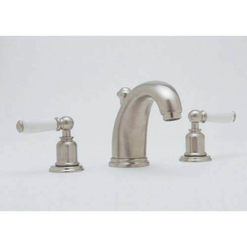 Rohl U.3700L Perrin and Rowe Widespread Bathroom Faucet with Pop-Up Drain and Lever Handles, Inca Brass