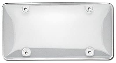Cruiser Accessories Bubble Shield Clear License Plate