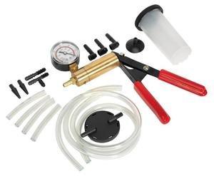 Clarik Sealey Vs4021 Vacuum Tester & Brake Bleeding Kit X 1