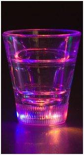 Litecubes Led Light Up Party Shot Glasses (Multi Color)