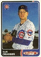 Scott Chiasson Iowa Cubs - Cubs Affiliate 2003 Topps Total Autographed Hand Signed... by Hall of Fame Memorabilia
