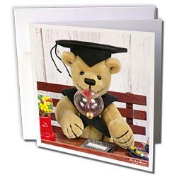 BK Dinky Bears Classic Misc – Dinky Bears Graduation – Greeting Cards-6 Greeting Cards with envelopes