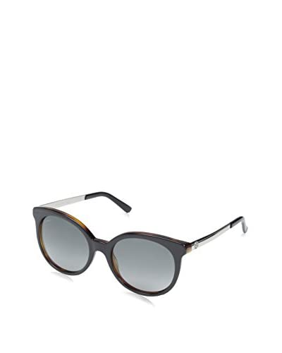 Gucci Women's Designer Sunglasses, Black Tortoise/Palladium