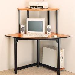 Buy Low Price Comfortable Desks Casual Contemporary Corner Computer Unit by Coaster (B0051PBZUS)
