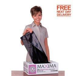 New Recycled Maxima Refuse Sacks 140 Gauge Bin Bags