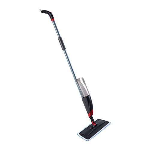 New Spray Mop Cleaner With Replaceable Micorfiber Cloth And Liquid Bottle (Vapor Genie compare prices)