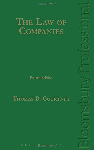 The Law of Companies: Fourth Edition