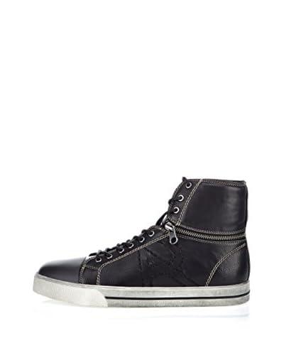 Armani Jeans Sneaker Alta [Nero]