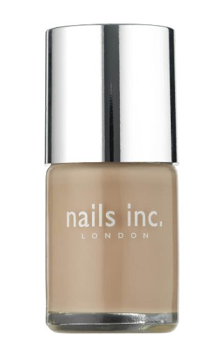 Nails Inc Basil Street Pale Soft Toffee Nail Polish - 10 ml