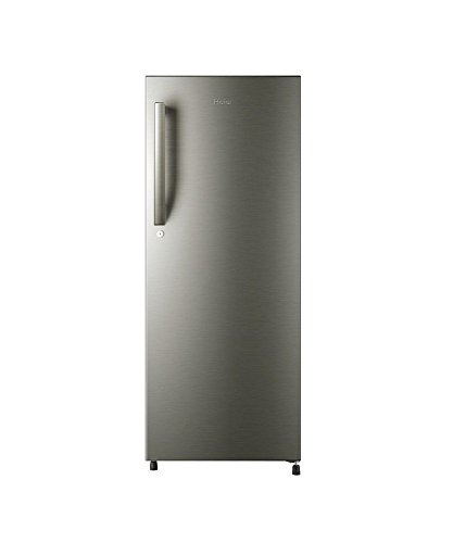 Haier HRD-2156BS-H Direct-cool Single-door Refrigerator (195 Ltrs, 5 Star Rating, Brushed Silver)