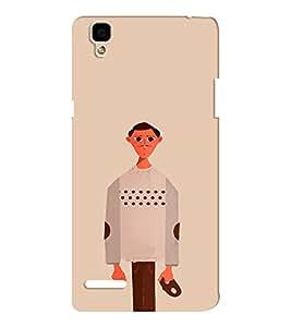 EPICCASE Innocent Man Mobile Back Case Cover For Oppo F1 (Designer Case)