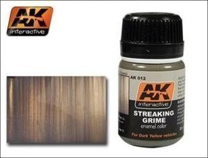 Ak Interactive Ak00012 - Streaking Grime Streaking Effects Model Making Wash браслет ak bl 1238