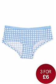 Cotton Rich Gingham Checked Shorts