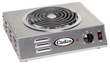 Cadco Csr-3T Hi-Power Countertop Electric Hotplate