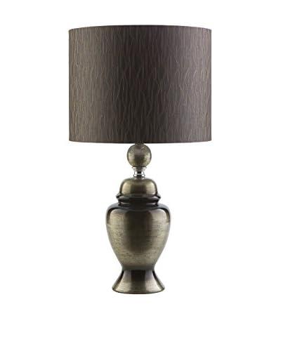 Surya Caldwell Table Lamp, Metallic Gold