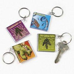 Dinosaur Acrylic Key Chains (1 Dozen) - Bulk front-746500