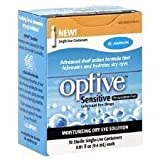 Refresh Refresh Optive Sensitive Preservative-Free Eye Drops, 30 ct