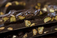 Seor Murphy Dark Chocolate Chile Pistachio Bark 1lb Box from Señor Murphy Candymaker