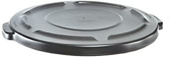 Rubbermaid Commercial Brute Plastic Lid, Round, for Brute Utility Containers