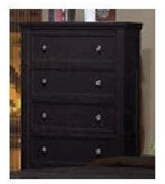 Coaster Home Furnishings 201325 Country Chest, Black