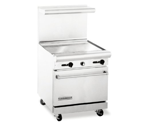 30 Inch Gas Range With Griddle