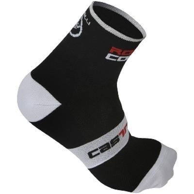 Buy Low Price Castelli 2012/13 Rosso Corsa 9 Cycling Sock – Black – R9046-010 (B0029QHF88)