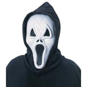 [Evil Howling Ghost Scream Adult Costume Mask Rubies 3354] (Jack Torrance Costume)